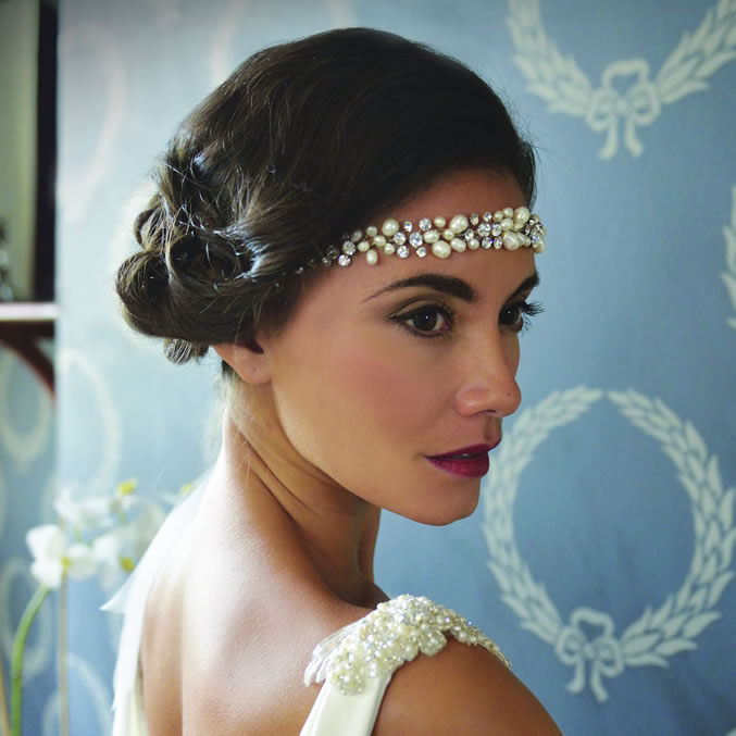 Ivory and Co Sylvie Bridal Vine Headband
