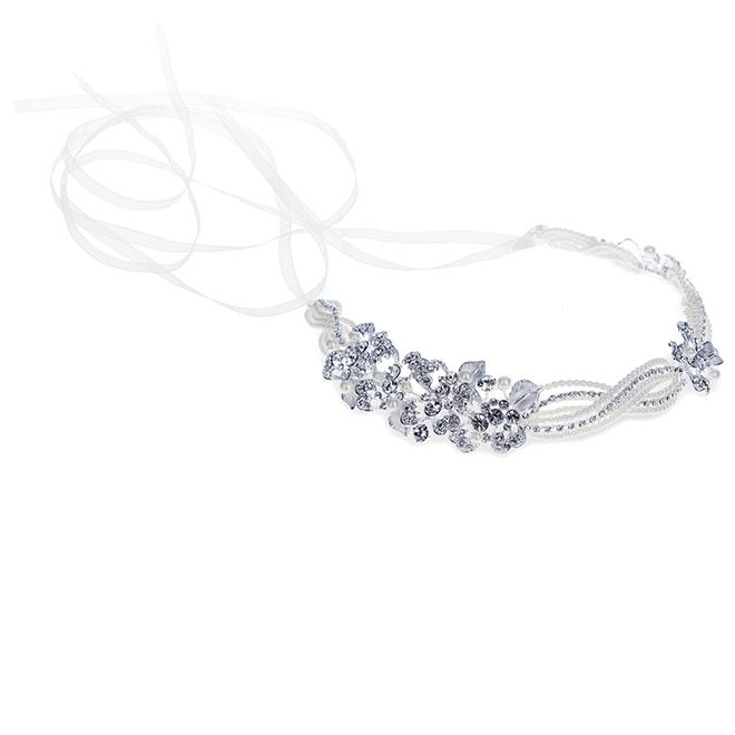Ivory and Co Katya Silver Hairvine