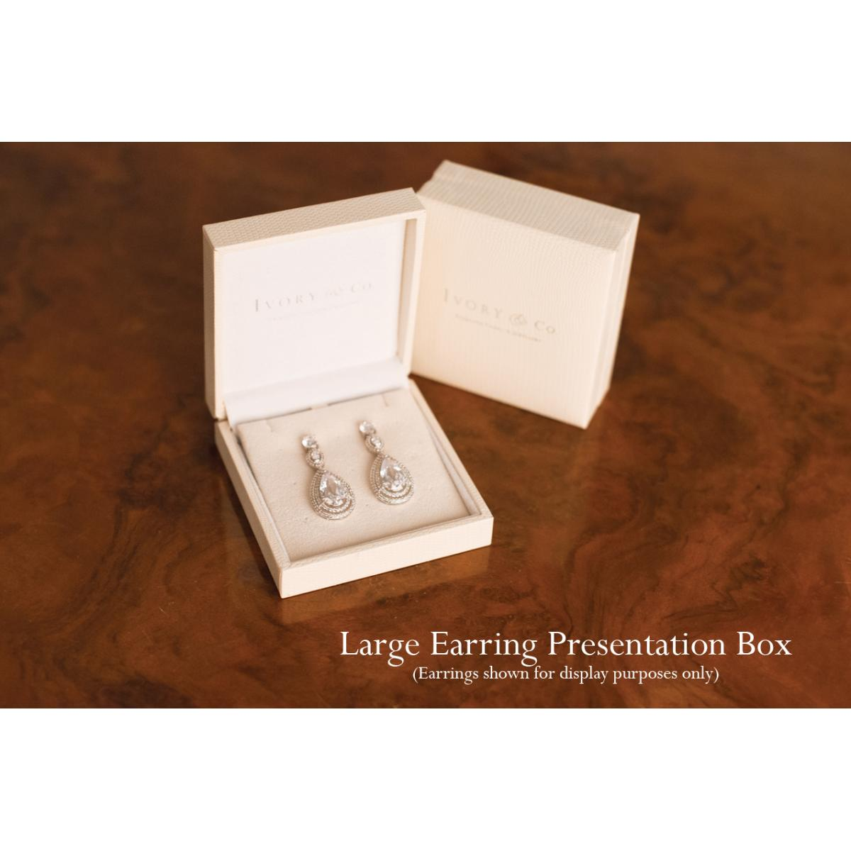 Ivory and Co Long Island Rose Earrings