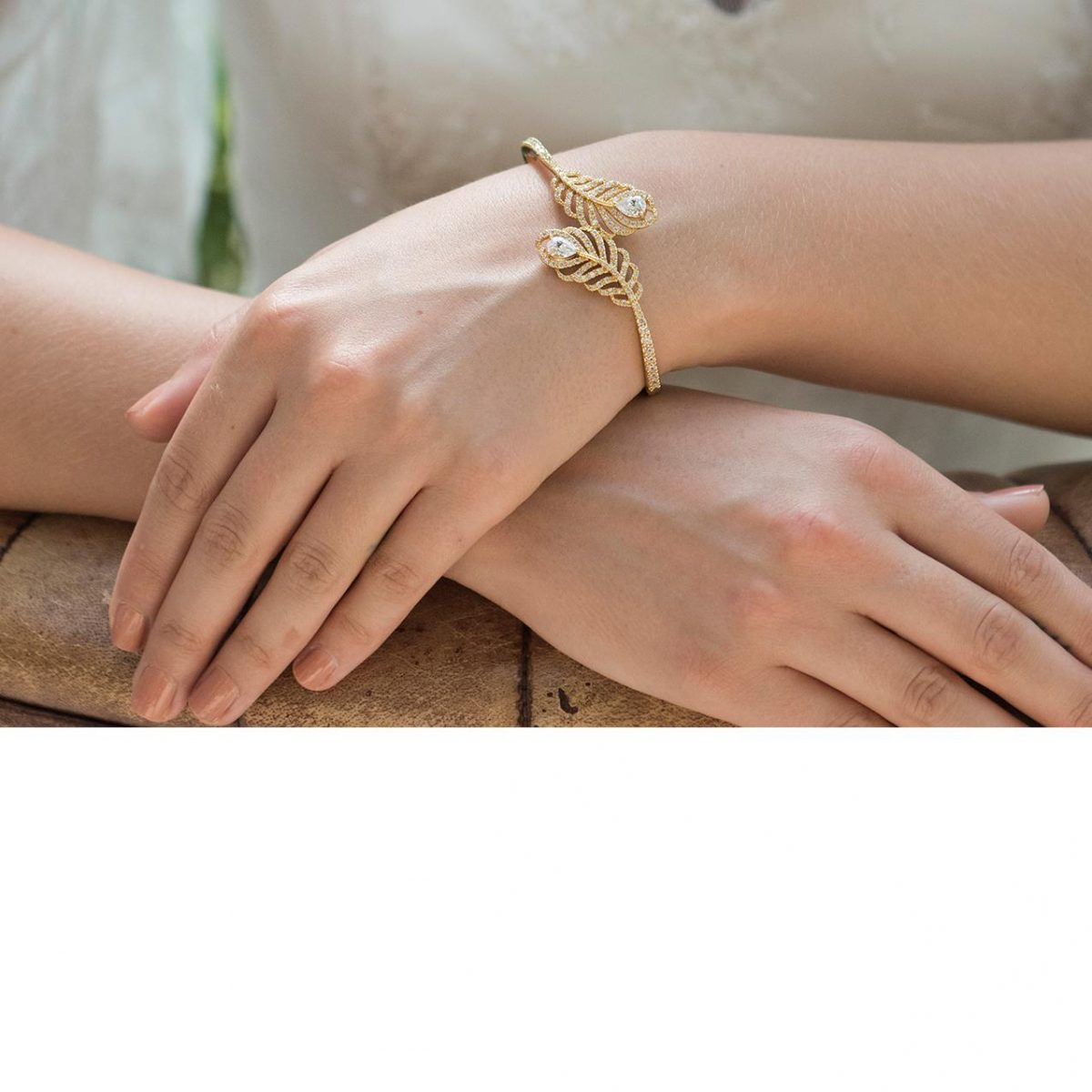 Ivory and Co Long Island Gold Bracelet