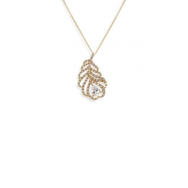 Ivory and Co Long Island Gold Pendant