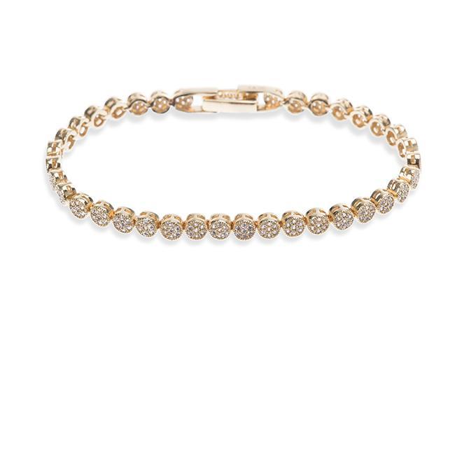 Ivory and Co Modena Gold Bracelet