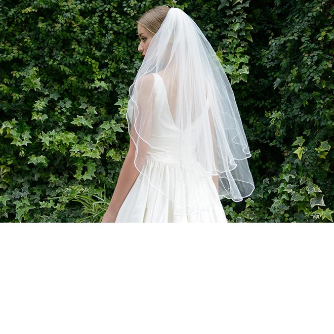 Ivory and Co Monte Carlo Veil