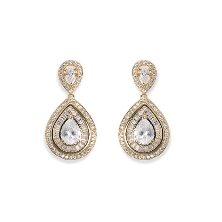 Ivory and Co Montgomery Gold Earrings