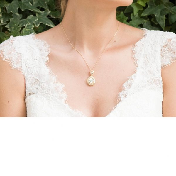 Ivory and Co Montgomery Gold Pendant