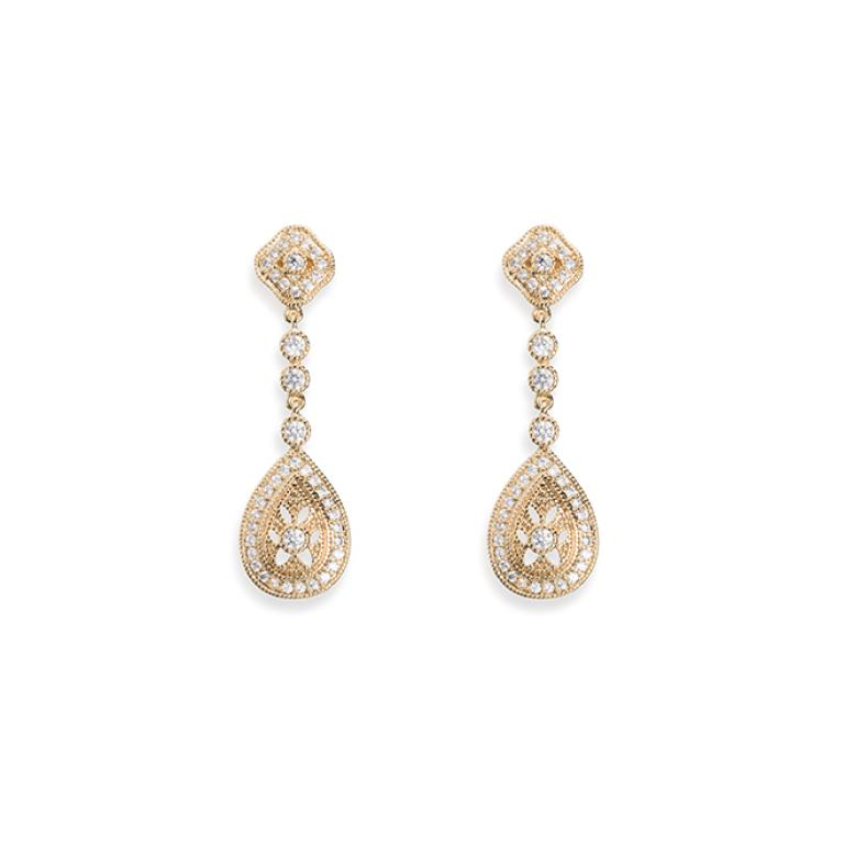 Ivory and Co Moonstruck Gold Earrings