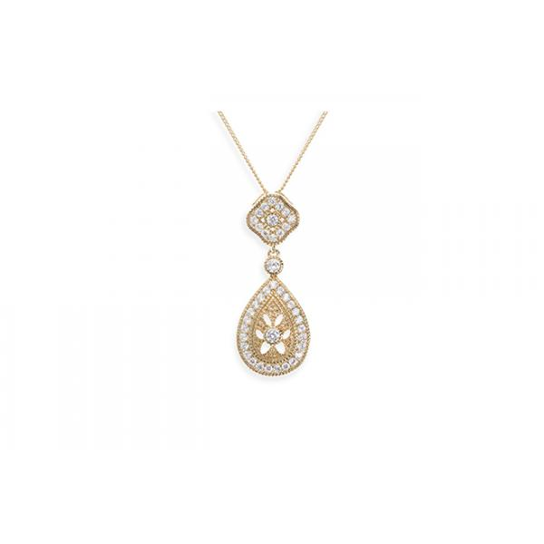 Ivory and Co Moonstruck Gold Pendant