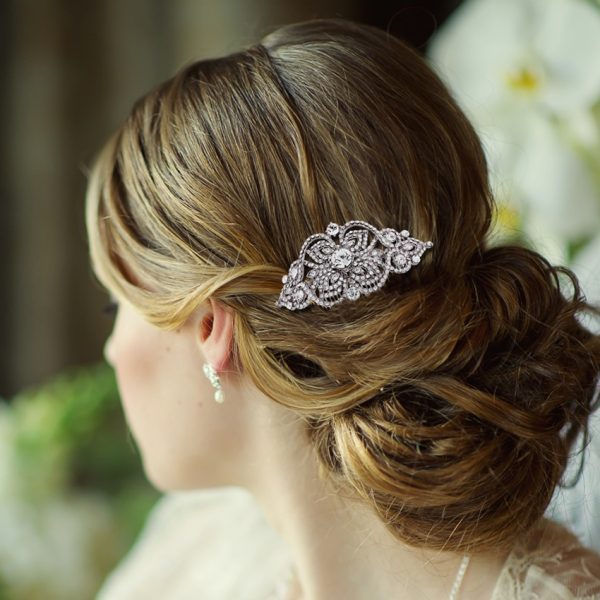 Myleene Vintage Scroll Wedding Comb