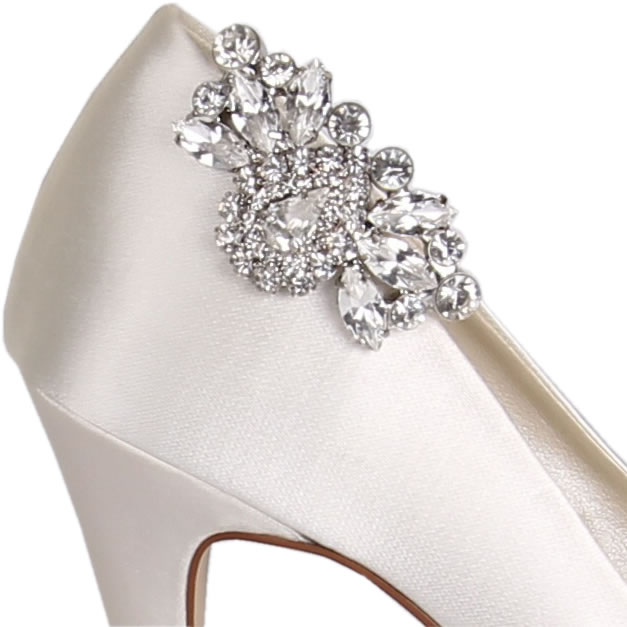 Rainbow Club Myra Bridal Shoe Clips