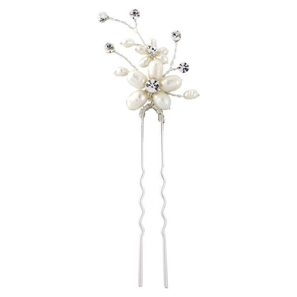 Neva Pearl Bridal Hair Pin