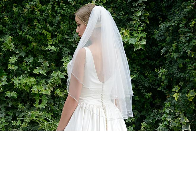 Ivory and Co Oxford Veil