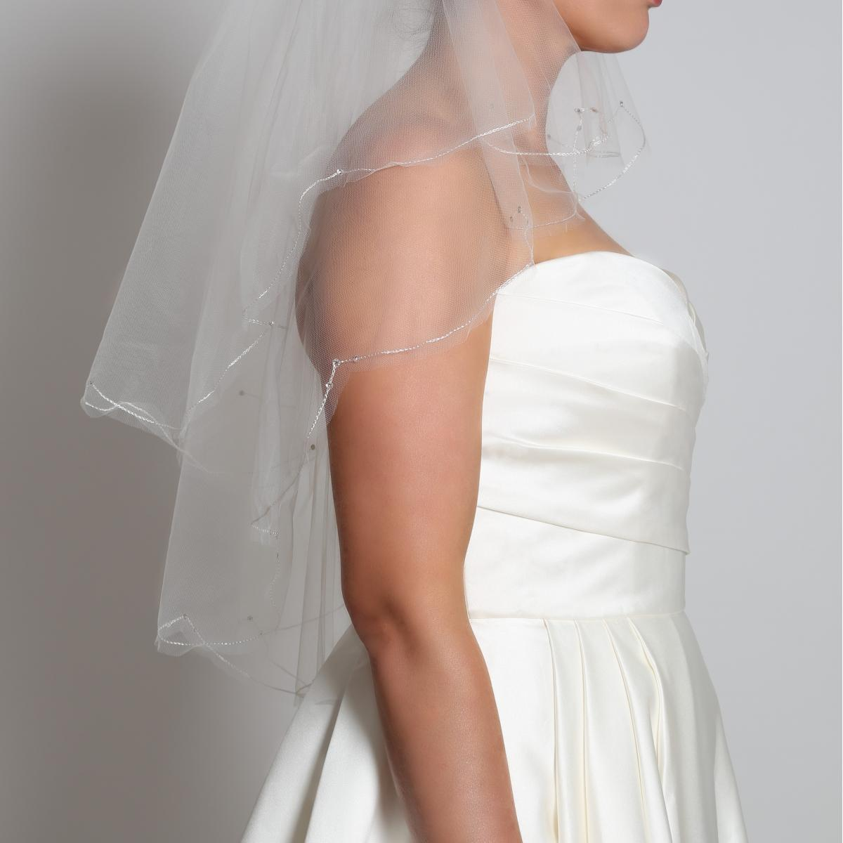 Perfect Bridal Veil Beatrice