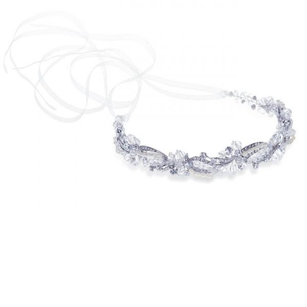 Ivory and Co Paige Silver Hairvine