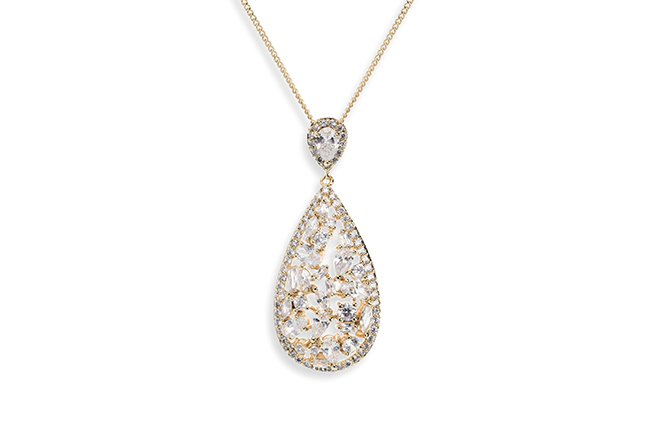 Ivory and Co Pasadena Gold Pendant
