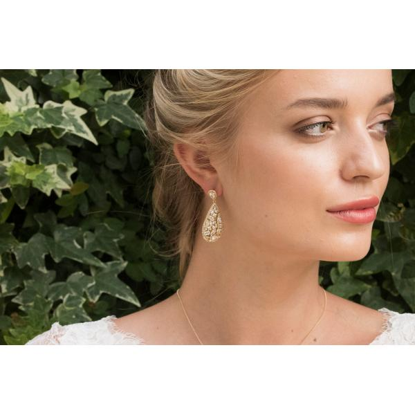 Ivory and Co Pasadena Gold Earrings