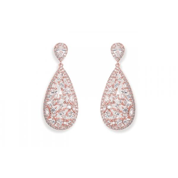 Ivory and Co Pasadena Rose Earrings