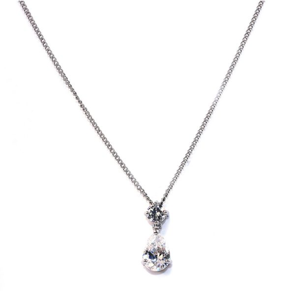 Ivory and Co Imperial Cubic Zirconia Pendant