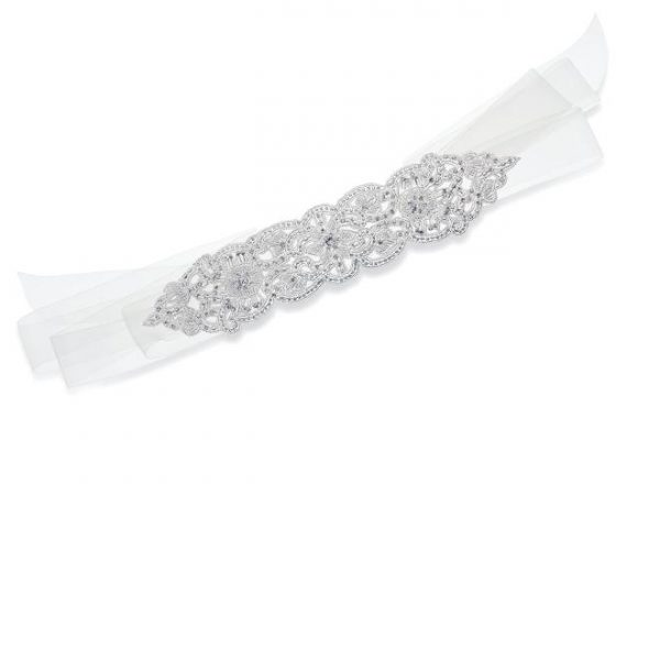 Ivory and Co Pearl Gatsby Sash