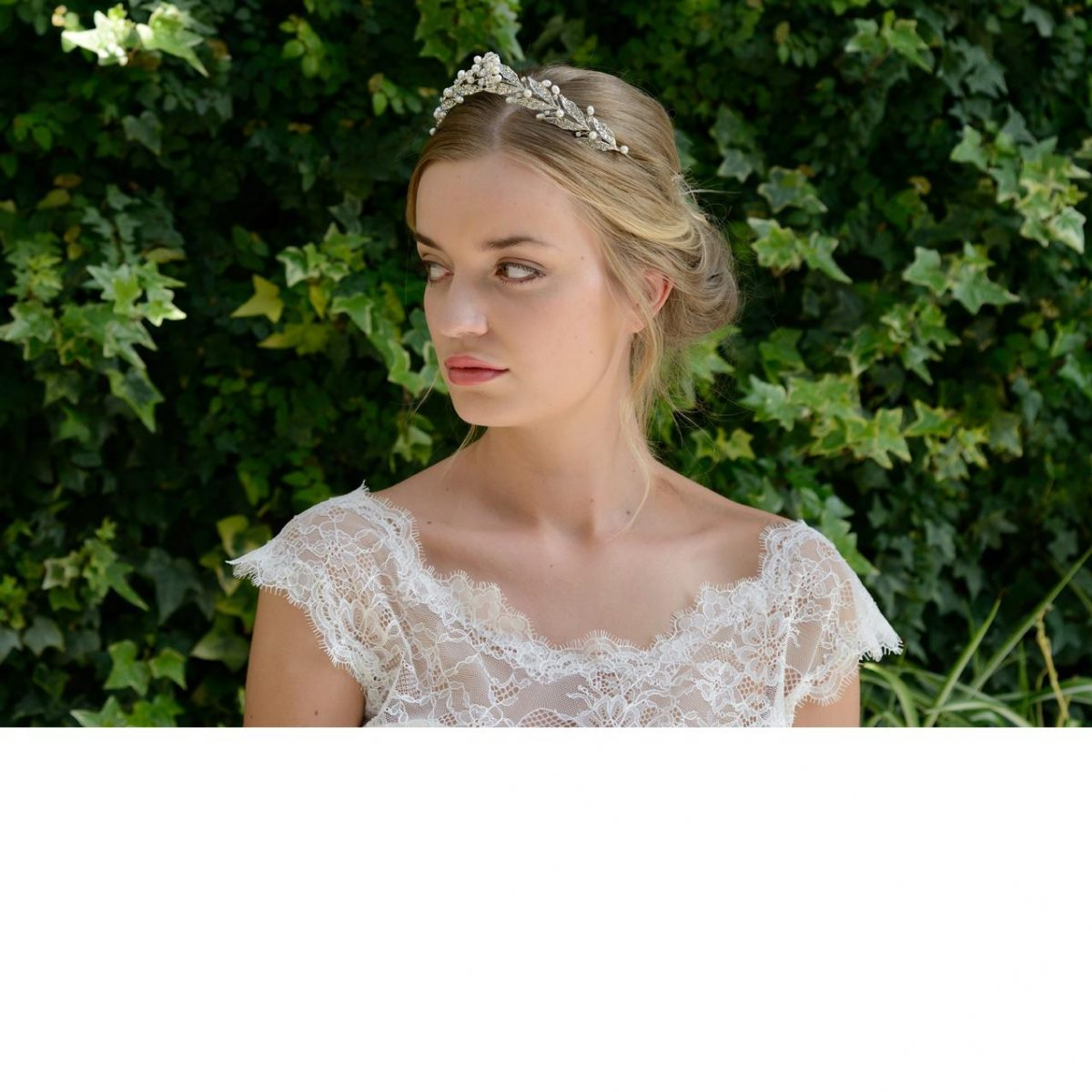 Ivory and Co Persphone Pearl Tiara
