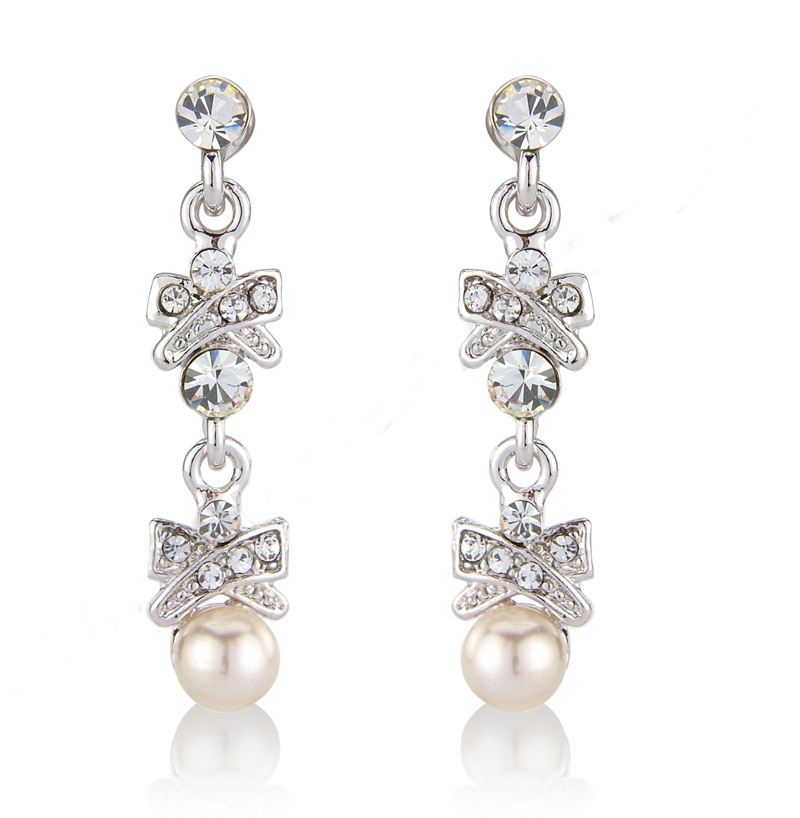 Primrose Pearl Bridal Earrings