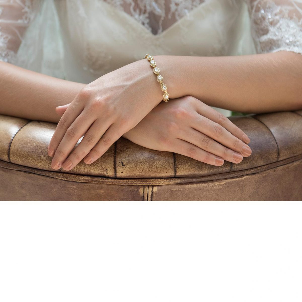 Ivory and Co Promise Gold Bracelet