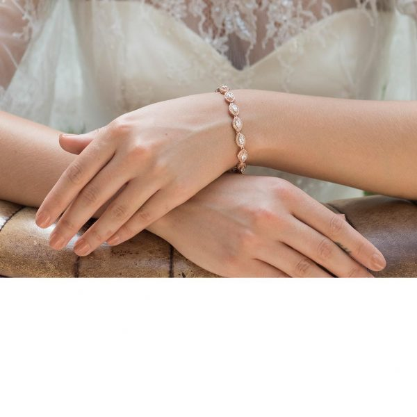 Ivory and Co Promise Rose Bracelet