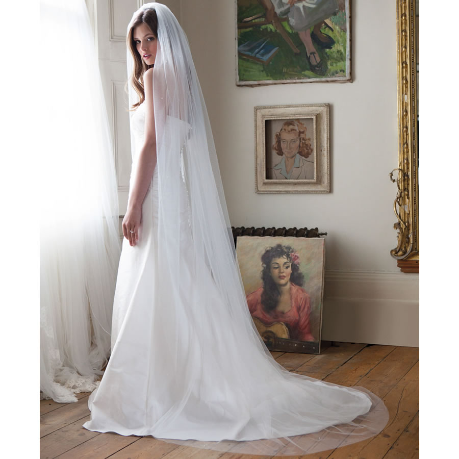 Rainbow Club Avalanche Wedding Veil