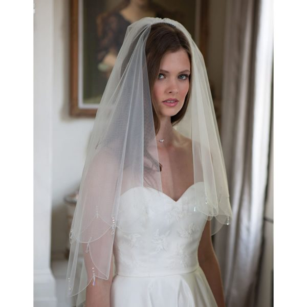 Rainbow Club Firefly Wedding Veil