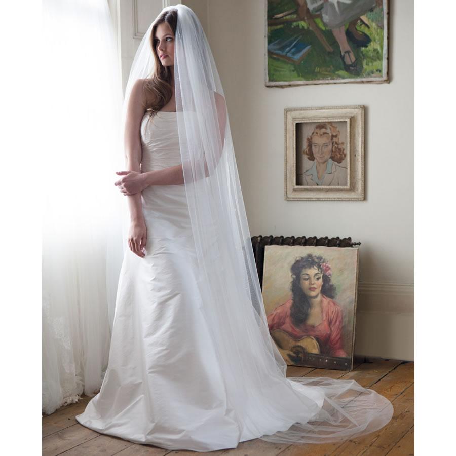 Rainbow Club Starfire Wedding Veil