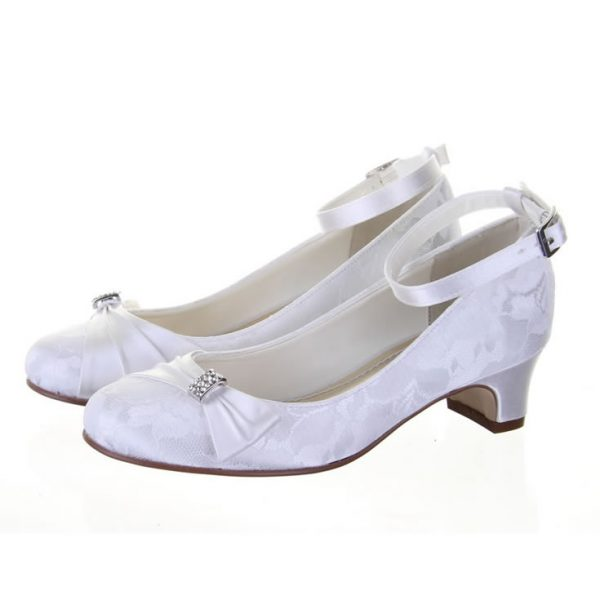 Rainbow Kids Mint Communion Shoes