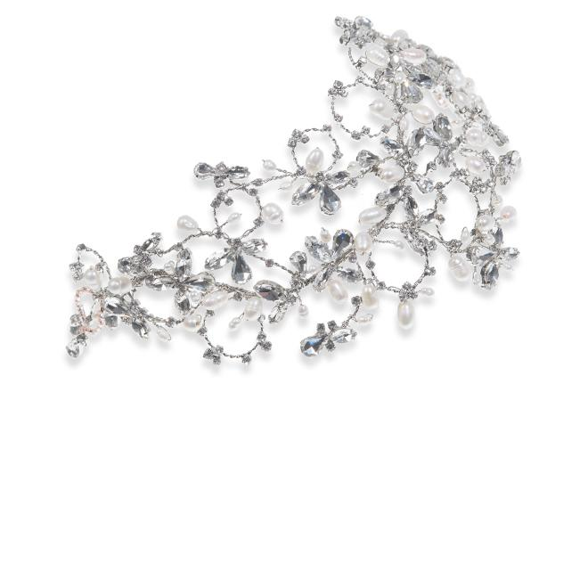 Ivory and Co Serenity Silver Hair Vine