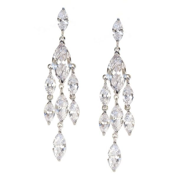 Sicily Crystal Waterfall Earrings