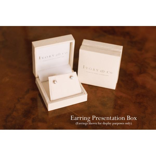 Ivory & Co Balmoral Rose Earrings
