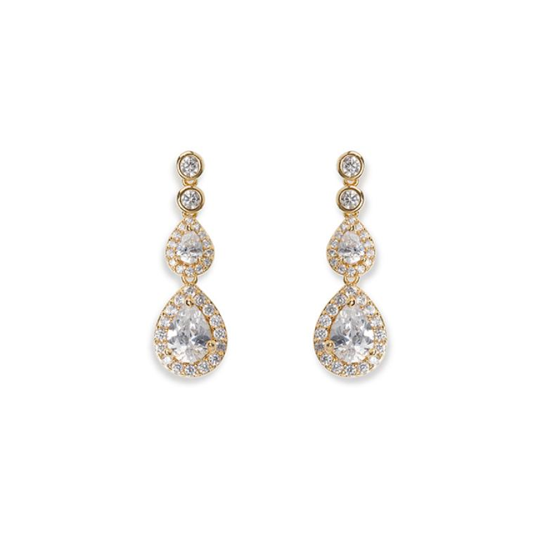 Ivory and Co Sorbonne Gold Earrings