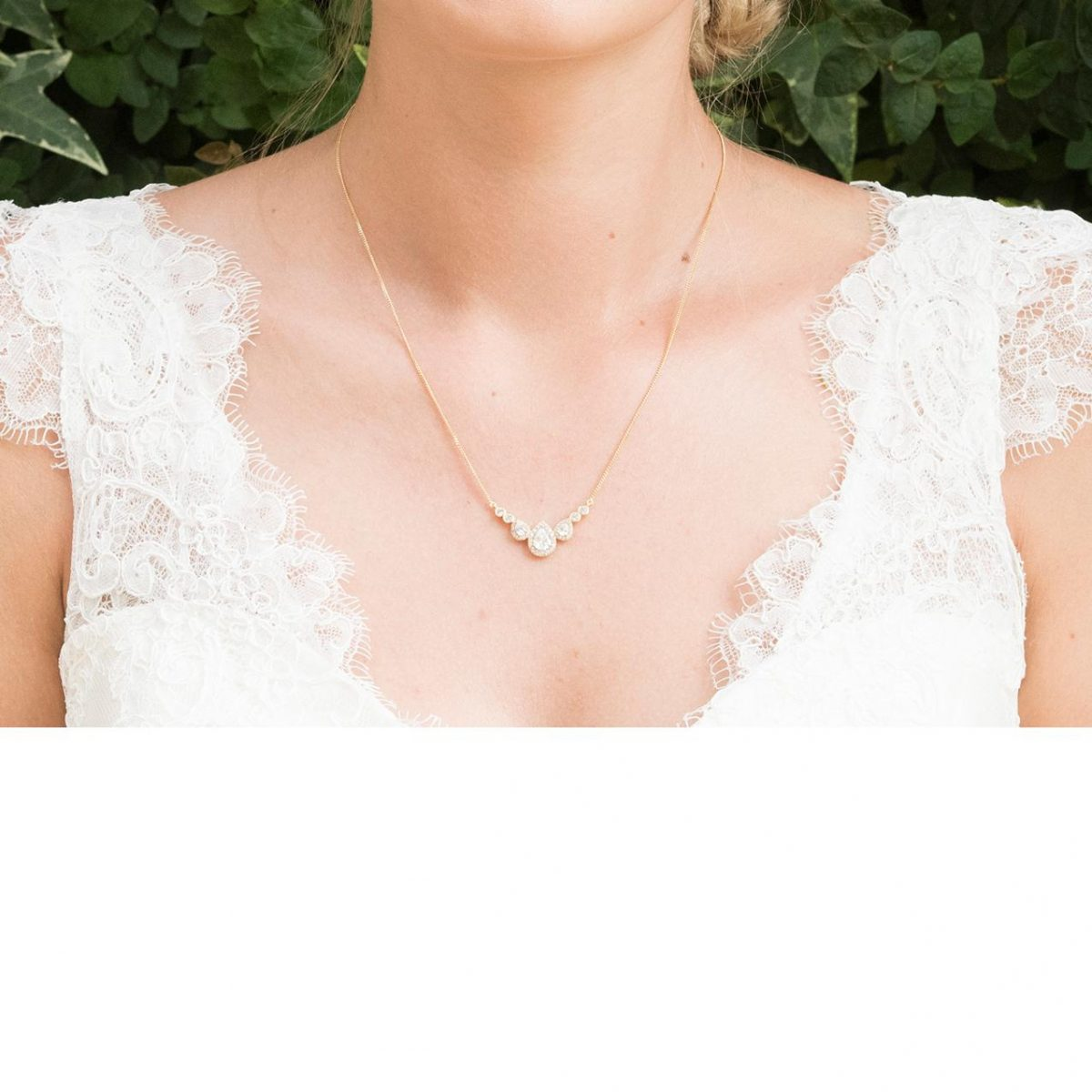 Ivory and Co Sorbonne Gold Pendant