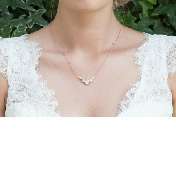 Ivory and Co Sorbonne Rose Pendant