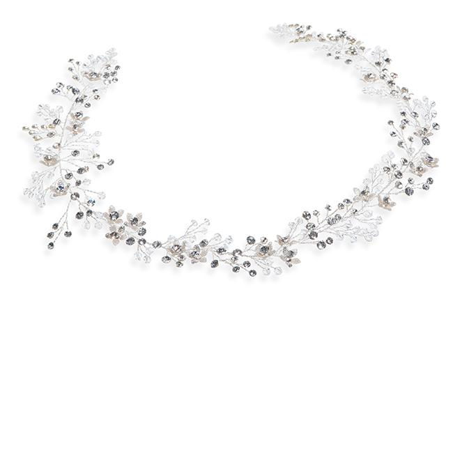Ivory and Co Spring Dawn Silver Hair Vine