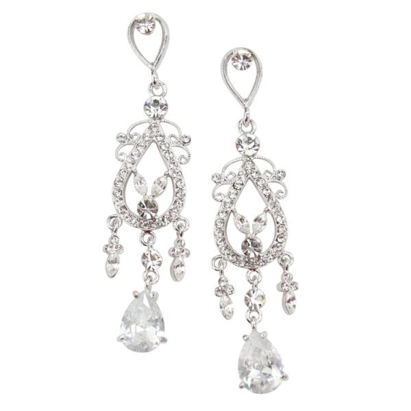 Starlet Crystal Chandelier Earrings
