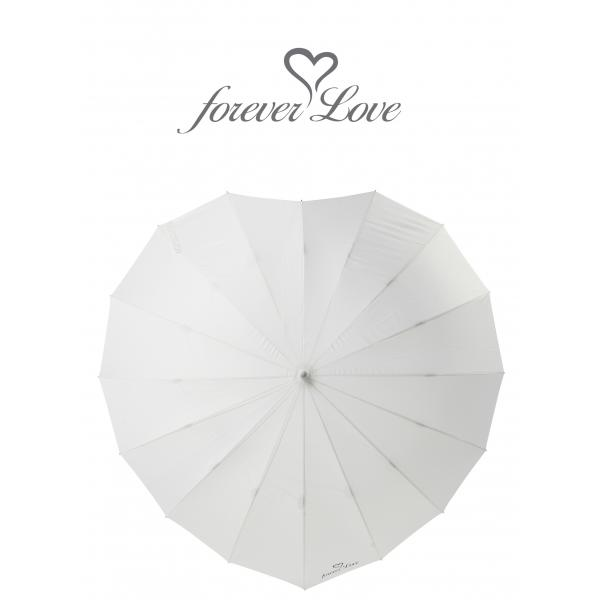 Poirier Heart Umbrella - 'Forever Love'