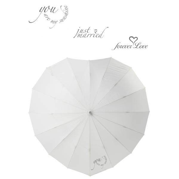 Poirier Heart Umbrella - Mixed