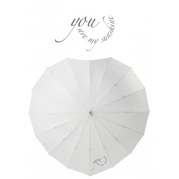 Poirier Heart Umbrella - 'You are my Sunshine'