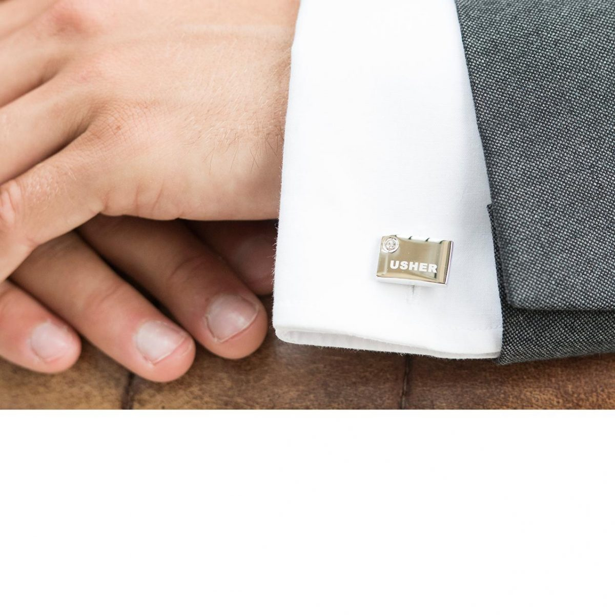 Ivory and Co Usher Cufflinks