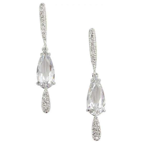 Vespa Crystal Drop Earrings