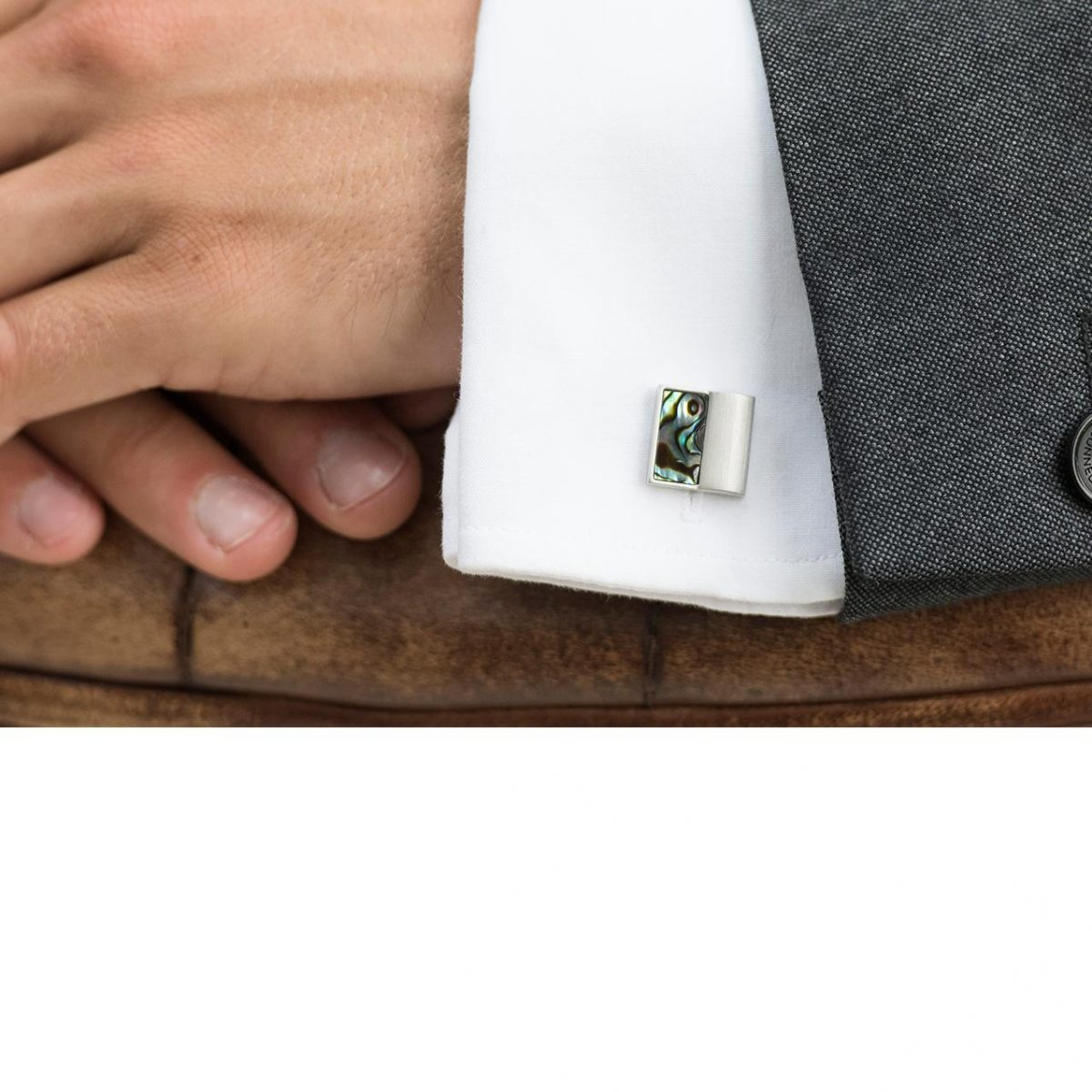Ivory and Co Waldorf Cufflinks