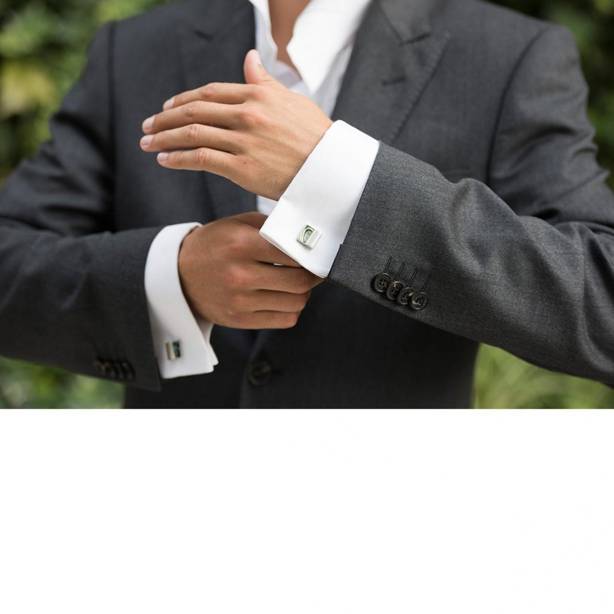 Ivory and Co Waldorf Cufflinks