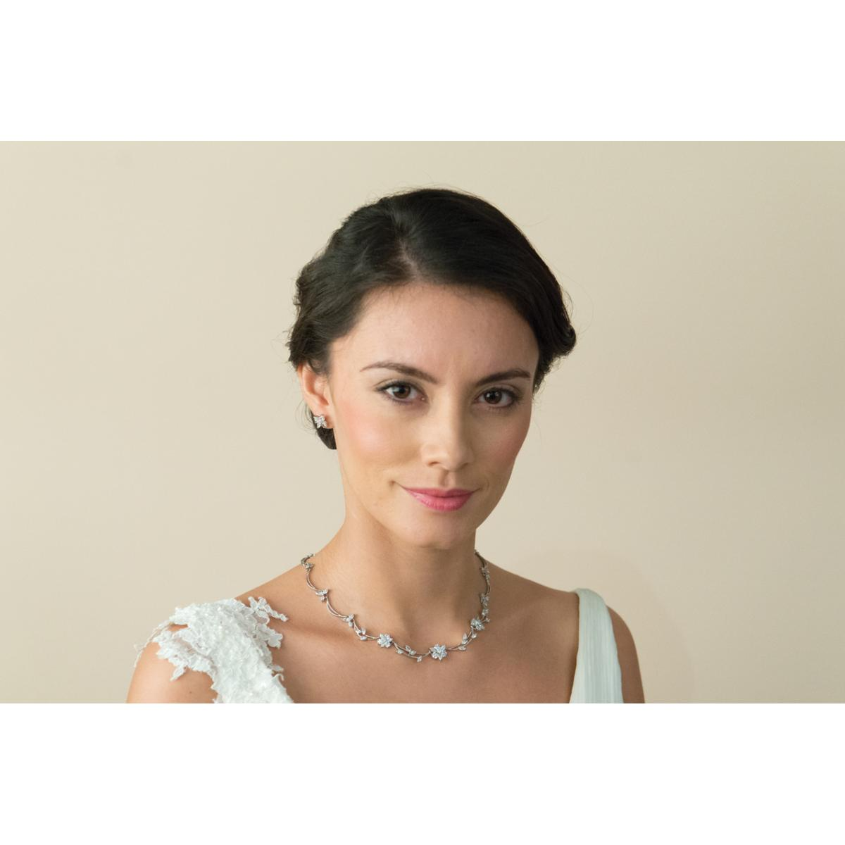 Ivory and Co Waterlily Necklace