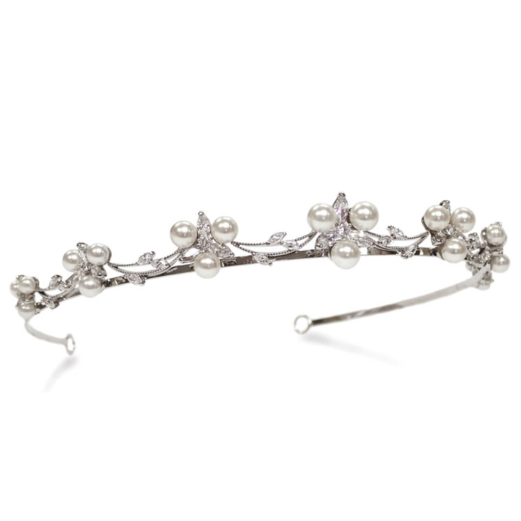 Ivory and Co Waterlily Tiara