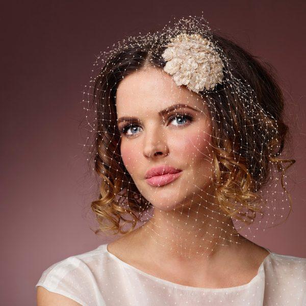 Poirier Adele Comb with Net - Cappucino