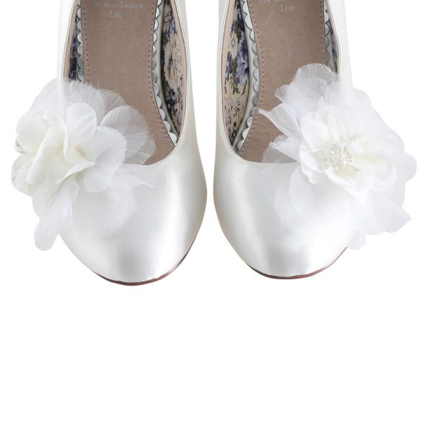 Perfect Bridal Apple Shoe Trim - Ivory
