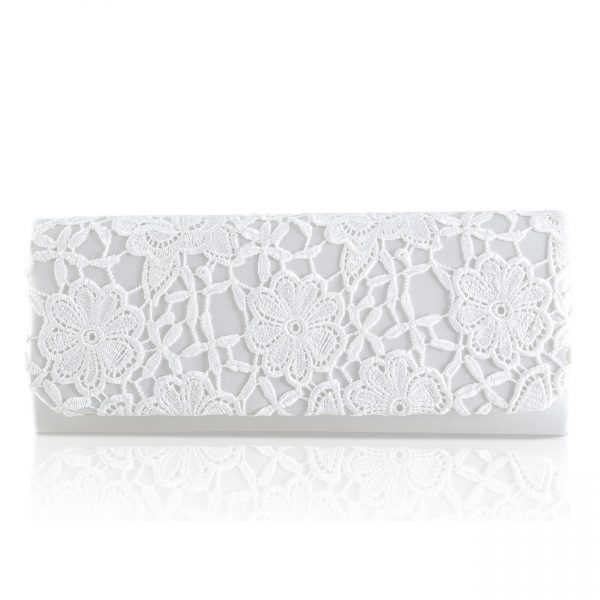 Perfect Bridal Ash Bridal Bag - Lace